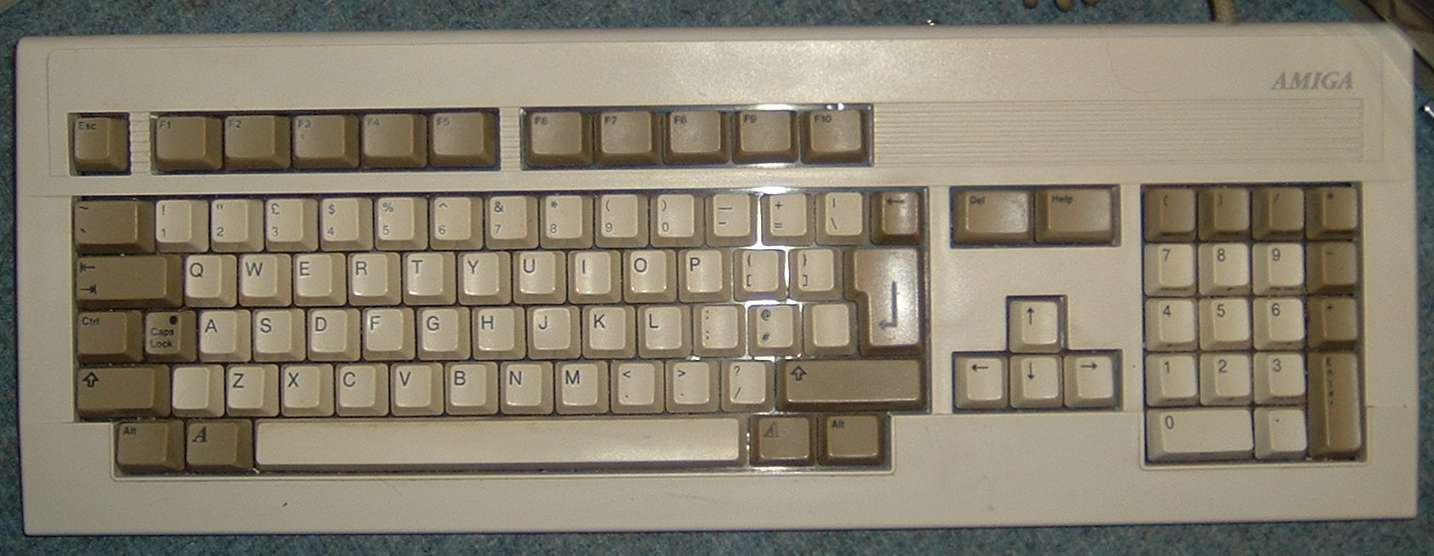 Keyboard issue english amiga board the keys works but if you refer to the images youll see that on amiga ithe symbol is on another physical key buycottarizona